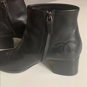Classic Chanel boots